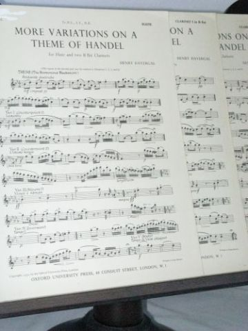 Havergal H - More Variations on a Theme of Handel